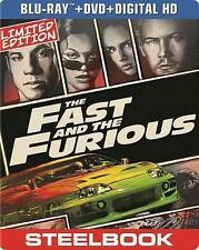 THE FAST AND THE FURIOUS (Blu-ray/DVD, 2014, 2-Disc Set Includes Digital Copy)