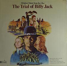 """THE TRIAL OF BILLY JACK - ELMER BERNSTEIN 12""""  LP  (Q443)"""