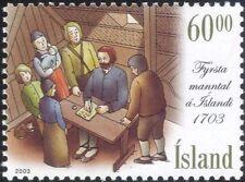 Islanda 2003 censimento della popolazione/registrazione/registrazione/BOOK/Persone/Cat 1v (is1035)