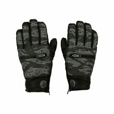 2017 NWT MENS VOLCOM LET IT STORM SNOWBOARD GLOVES $65 L camouflage