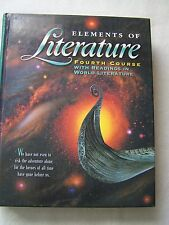 Holt Elements of Literature Grade 10 Fourth Course Student Text ISBN# 0030520630