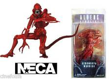 Action figure Alien Red Xenomorph Warrior film Aliens Serie 5 18 cm by Neca