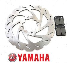 Yamaha Raptor 660 R Rear Brake Disc Wave Rotor / Pads