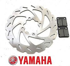 New Yamaha Banshee YFZ350 Rear Brake Disc Wave Rotor / Pads
