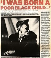 15/12/90 Pgn10/11 Article  i Was Born A Poor Black Child Life Of Vanilla