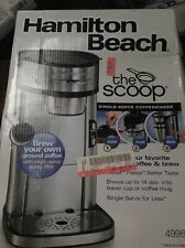 Single Serve Scoop Coffee Maker Brewer Silver Stainless Steel Cup Mug GIFT