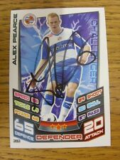 2012/2013 Autograph: Reading - Pearce, Alex [Hand Signed 'Topps Matc