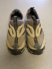 "Timberland ""Mountain Athletics"" tan and gray hiking loafers. Women's 7.5 M"