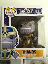 FUNKO POP! Guardians of the Galaxy Thanos #78 6-Inch Pop! Vinyl Bobble Head RARE