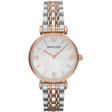 NEW EMPORIO ARMANI LADIES GENUINE GIANNI GOLD T-BAR WATCH - AR1683 - RRP £329