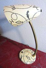 Vtg,1950s,MEGA RARE,Fiberglass Desk Table Lamp,Western,Guns,Cattle Brands,Lassso