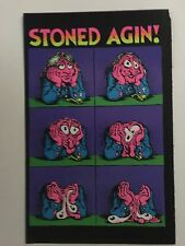 Stoned Again Crumb Blacklight Poster Pin-up Print Black Power Double Sided UV