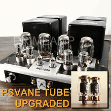 YAQIN MC-100B BK KT88 Vacuum Tube Hi-end Integrated Power Amplifier 110v-240v UK