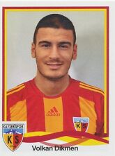 N°252 VOLKARI DIKMEN # TURKEY KAYSERISPOR STICKER PANINI SUPERLIG 2011