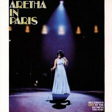 In Paris - Aretha Franklin (1994, CD NEUF)