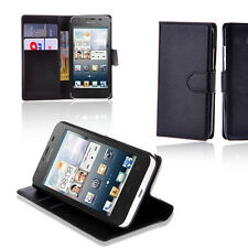 Leather Stand Wallet Flip Case Cover For HUAWEI Ascend G526