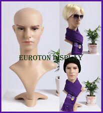 MDMD Eurotondisplay Dekokopf Perückenkopf Schaufensterpuppe Mannequin männlich