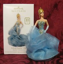 HALLMARK 2011 BARBIE ORNAMENT~TRIBUTE BARBIE DOLL