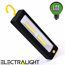 Ultra Bright Light COB LED Hanging Worklight Magnetic Inspection Lamp Torch Work