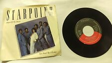 Starpoint ~ Send Me a Letter/Object of Desire ~ Elektra ~ 7-69621 ~ 45RPM RECORD