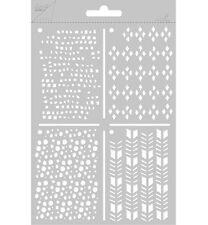 Flex-Schablone Polybesa-Stencil Pflastersteine Rautenmuster JoyCrafts 6002/0822