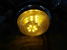 Landrover Series 1 2 LED Combined Indicator Sidelight Amber/White Bulbs Positive