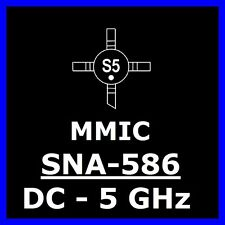 10 x SNA-586 MMIC Sirenza Stanford 50 Ohm  DC-5GHz , 5V High Gain IP3 32dB