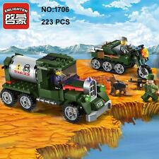 Enlighten 1706 Military Army Truck Car Figure Building Block Toy lego Compatible
