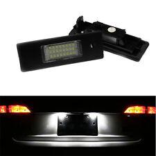 FEUX ECLAIRAGE DE PLAQUE LED BLANC XENON BMW SERIE 1 E81 E87 3 ET 5 PORTES TOUS