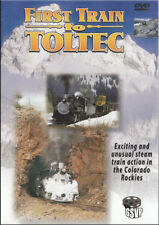 First Train to Toltec DVD NEW Greg Scholl Cumbres snow plow rio grande Chama
