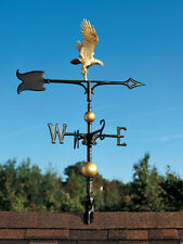 "30"" Flying Eagle Weathervane with Arrow-MultiColor Paint, 3-D appearance & depth"