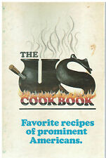 *THE US COOK BOOK 1976 FAVORITE RECIPES OF PROMINENT AMERICANS *VINTAGE *CELEBS