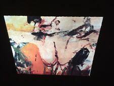 """William De Kooning """"Watermill Landscape"""" Abstract Expressionist 35mm Slide"""