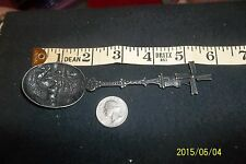 ANTIQUE DUTCH MECHANICAL WINDMILL CREST SILVER SPOON hh 90 sterling