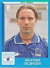 137 WILFRIED DELBROEK RC.GENK STICKER FOOTBALL 2000 PANINI