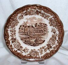 Royal Worcester PALISSY Avon Scenes BRAUN ~ Schale 13 cm / Dessertschale