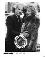 Lot of 2, Richard Dreyfuss Bette Midler stills DOWN AND OUT IN BEVERLY HILLS (86