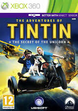 The Adventures of Tintin: The Secret of the Unicorn ~ XBox 360 (Great Condition)