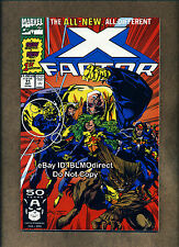 1991 X-Factor #71 New Team Signed by Larry Stroman w/CoA X-Men First Print