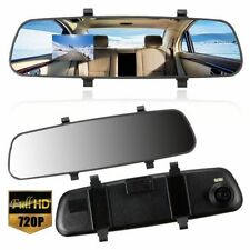 2.7'' In-Car Rear View Mirror Dash Video DVR Recorder Camera Monitor HD 1080P B9