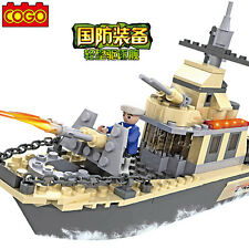 COGO Building Block Military Army  Action Destroyer #3332 231pcs
