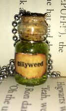 Gillyweed Tiny Potion Bottle Necklace Fan Of Harry Potter Book Geekery Cosplay