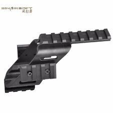 Universal Tactical Pistol Scope Sight Laser Light 20mm Mount Mounts With Quad