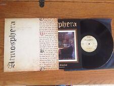 ATMOSPHERA - Lady Of Shalott 1977 ISAREL Prog 2015 Re 180 Gr Vinyl LP BLACK