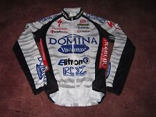 DOMINA VACANZE 2003 NALINI L/S CYCLING JERSEY [2] RIDER ISSUE: PAOLO VALOTI
