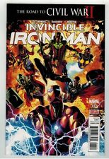 INVINCIBLE IRON MAN #11 - MIKE DEODATO ART & COVER - CIVIL WAR TIE-IN - 2016