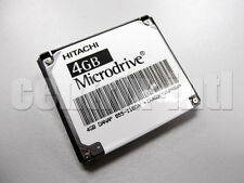 Hitachi 3K6 Microdrive 4GB Compact Flash CF+ Type II HMS360404D5CF00 13G1768