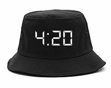 Kings Of NY 420 Weed Marijuana Printed Bucket Hat High Legalize
