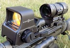 Sightmark 3x Tactical Magnifier and Pro Spec Reflex Sight Combo