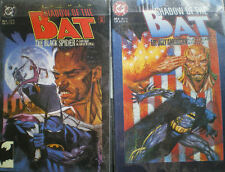Batman Shadow of the bat, Mini di 2, #5-6, comics originali USA, ottimi